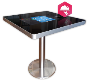 Table digitale de commande de repas