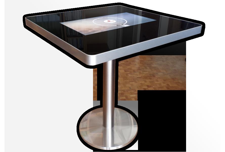 Table tactile pour menu restaurant